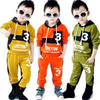 *儿童装男童长袖卫衣+长裤子两件套装2018春装新休闲