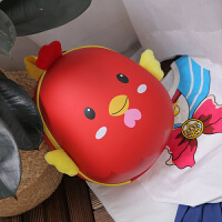 儿童书包幼儿园2-3-5岁男女童小孩卡通可爱迷你双肩宝宝蛋壳书包 小鸡蛋壳包 红色