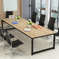 20190825013238954会议桌大班台办公家具长桌大型培训桌长方形办公桌椅简约现代