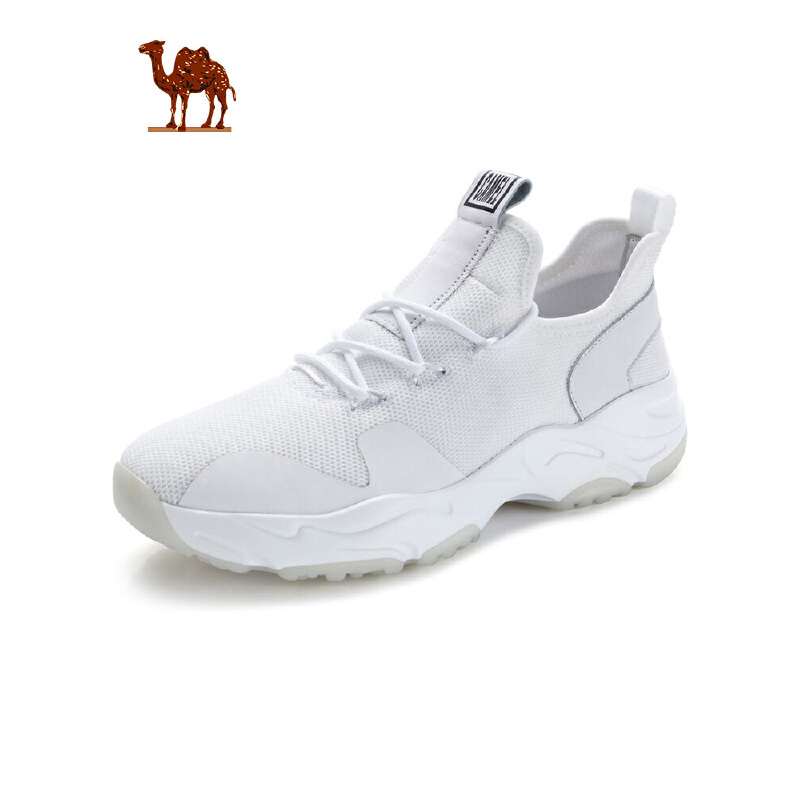 camel骆驼运动休闲鞋男 新款ins超火的鞋子老爹鞋秋季透气潮流男鞋