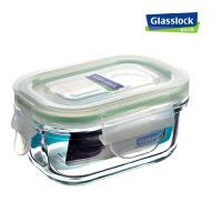 GlassLock/三光云彩 韩国进口钢化玻璃乐扣微波保鲜盒 便当盒 饭盒150ml