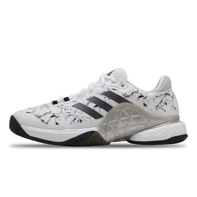 阿迪达斯Adidas CG3089网球鞋男鞋 男子网面透气运动鞋 减震 防滑 耐磨
