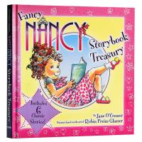 漂亮的南希故事合集 英文原版 Fancy Nancy Storybook Treasury 英文版儿童英语启蒙绘本 小俏
