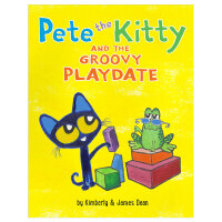 Pete the Kitty and the Groovy Playdate 皮特猫糟糕的玩耍 英文儿童阅读