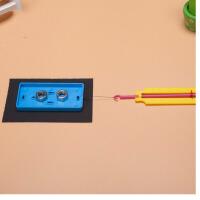 儿童科学实验教具玩具拼装小学生科技小制作制作摩擦力实验