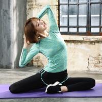 运动服套装2019新款秋冬长袖女健身房瑜伽服速干衣外套晨跑步大码