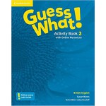 Guess What! Level 2 Activity Book with Online Resources Bri