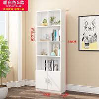 实木书架置物架简约落地书柜简易客厅书橱经济型收纳书柜