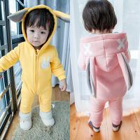 MINI贝贝城01岁婴儿冬季服装 婴儿外出服装冬季 ins宝宝衣服