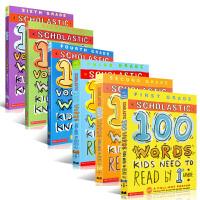 顺丰发货 英文原版 100 Words Reading Workbook Vocabulary 100个单词练习册全6册 1-6年级 小学生单词练习册