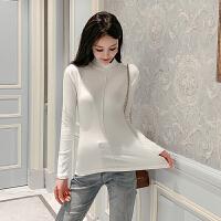针织衫 女士修身半高领针织衫2020冬季新款韩版女式时尚宽松打底衫学生休闲女装长袖毛衣