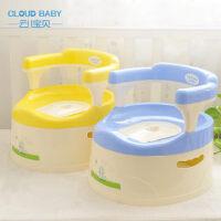云儿宝贝抽屉式儿童安全坐便器 宝宝靠椅座便马桶 婴儿便盆带手柄