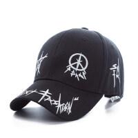 韩版棒球帽女士嘻哈时尚青年遮阳帽太阳帽 男士潮人鸭舌帽