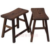 木凳子实木小板凳中国风长条换鞋凳新中式家具仿古木凳 高32*长33*宽18