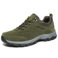 冬季男士户外登山鞋防水防滑徒步鞋运动休闲越野男鞋大码