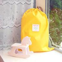 纳彩旅行收纳袋/幸运袋(M号)--黄色