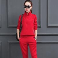 秋季运动套装女2017新款春秋装韩版时尚休闲两件套长袖运动服