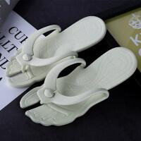 旅行拖鞋折叠可拆卸便携拖鞋情侣浴室防滑人字拖游泳沙滩鞋出差鞋