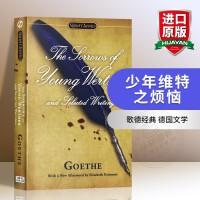 华研原版 少年维特之烦恼 英文原版小说 The Sorrows of Young Werther 全英文版进口英语书籍