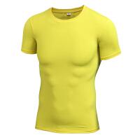 健身服男运动跑步紧身衣 弹力速干衣训练服短袖T恤