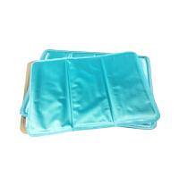 户外出游汽车坐垫夏季凉垫冰垫冰晶沙坐垫降温防暑垫FM27 浅蓝色