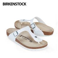 BIRKENSTOCK/勃肯 Arizona narrow女鞋白色人字拖 平底露趾凉鞋 沙滩鞋 拖鞋 户外散步鞋