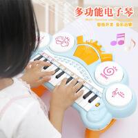 益智电子琴 儿童启蒙早教音乐琴 女孩卡通乐器电动小钢琴玩具批发