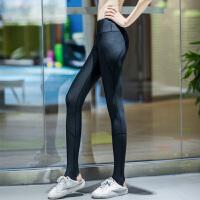 速干健身裤女运动裤高腰弹力训练瑜伽裤跑步裤提臀紧身裤踩脚长裤