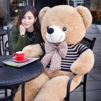 毛绒玩具泰迪熊猫公仔布娃娃玩偶大号韩国可爱萌送女友抱抱熊女孩