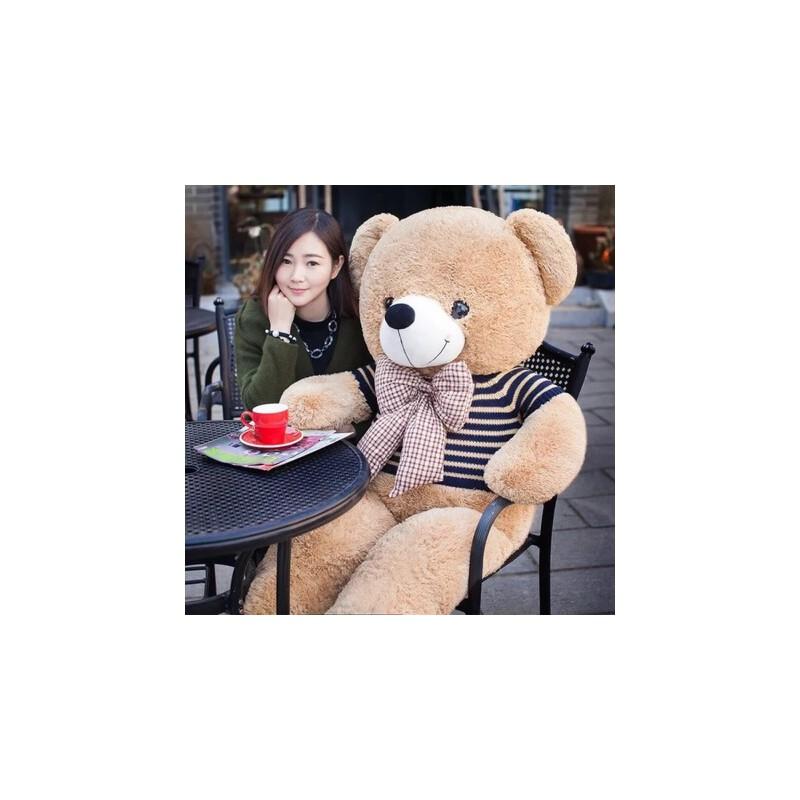 毛绒玩具泰迪熊猫公仔布娃娃玩偶大号韩国可爱萌送女友抱抱熊女孩 代写贺卡质量保证*佳品精品毛绒玩具