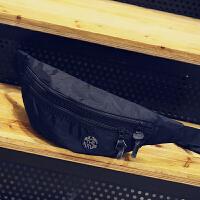 韩版休闲胸包男单肩包潮流斜挎包布腰包运动骑行包户外死飞包