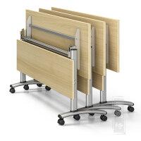课桌椅会议桌折叠培训桌长条桌组合培训桌椅移动拼接折叠桌办公桌
