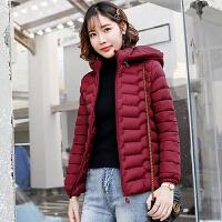 棉衣 女士短款羽绒棉服2020冬季韩版女式保暖大码修身棉袄学生加绒连帽外套