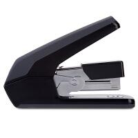 得力省力型订书机/装订器 单指轻松装订 搭配12#钉 可装150枚钉书针 黑色0477