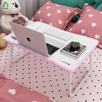 儿童学习桌宿舍家用经济型小学生写字书桌宝宝可折叠床上作业桌子
