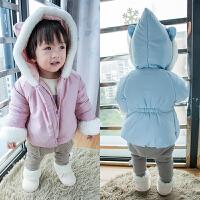 童装婴儿衣服新生儿棉衣男宝宝棉袄女幼儿保暖上衣冬装加绒厚外套
