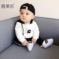 男童卫衣服2018新款婴儿童装男宝宝6春装3春秋0岁1小童洋气
