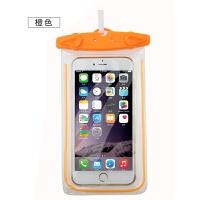 水下拍照手机防水袋温泉游泳手机通用iphone7plus触屏包6s潜水套jll