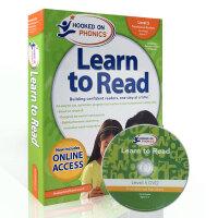 顺丰发货 美国进口英文教材 迷上自然拼读系列 第五级 Hooked on Phonics Learn to Read Level 5 含DVD光盘 儿童学习 Phonics 自然拼读的教材