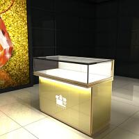 黄金珠宝展示柜玻璃柜展示架首饰货架手表陈列柜饰品柜台玉器展柜