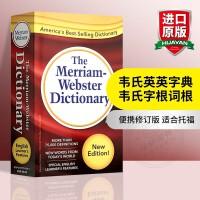 新版韦氏英英字典 英文原版 韦氏英语词典小红 Merriam-Webster Dictionary 美语字典辞典 正版