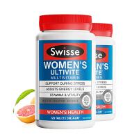 澳洲直邮/保税区发货 Swisse/瑞思 女士复合维生素多种矿物质女性综合维生素 120片*2瓶 海外购
