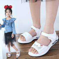 女童凉鞋公主鞋女孩凉鞋软底儿童鞋夏季中大童学生鞋