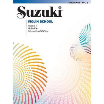 【预订】Suzuki Violin School, Vol 5: Violin Part 预订商品,需要1-3个月发货,非质量问题不接受退换货。