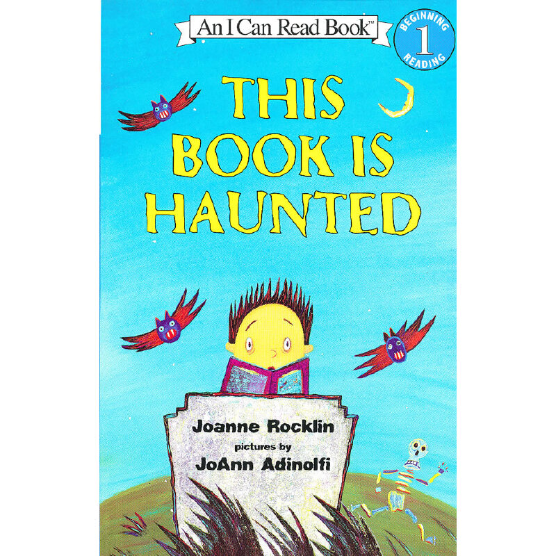 This Book Is Haunted 闹鬼的书(I Can Read,Level 1)ISBN9780064442619