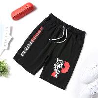 休闲短裤男五分裤夏季新款2019潮流男裤子薄款青少年运动短裤K916老虎头
