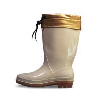 双星雨鞋女2017秋冬季加棉保暖雨靴中筒厨师鞋套脚鞋户外防水工作鞋
