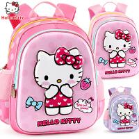 【全场2.9折起】HelloKitty凯蒂猫 儿童书包幼儿园女童3-6岁小孩学前班大班宝宝双肩背包5