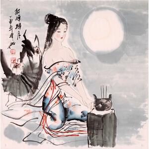 薛林兴《貂蝉拜月》