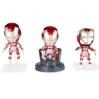 电影钢铁侠三款手办模型玩具玩偶公仔iron man 3